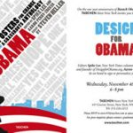 Design for Obama Book Launch at TASCHEN New York
