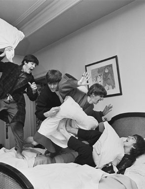 The Beatles Pillow Fight