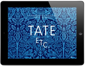TATE ETC magazine for iPad