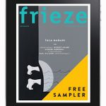 frieze announces free iPad app sampler of issue 152