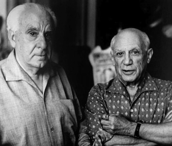 Zervos and Picasso.© David Douglas Duncan.