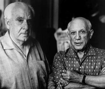 Zervos and Picasso.© David Douglas Duncan.