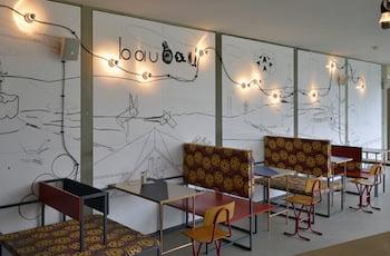Museum of Contemporary Art Leipzig Cafe bau bau and new publications