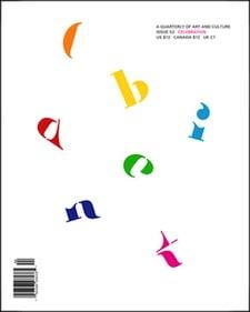Cabinet magazine issue 52 published